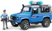 Bruder 02597 - Land Rover Defender Station Wagon  politie met politieman en accessoires - Speelset