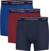 Tommy Hilfiger - Heren 3-Pack Brief Boxershorts Rood Blauw - XXL