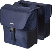 Basil Go Double Bag - Dubbele Fietstas - 32 l - Dark Denim Blue