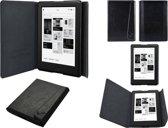 Premium Kobo Touch 2.0 Sleepcover beschermhoes, mooi ECO-leder Kobo hoesje, zwart , merk i12Cover