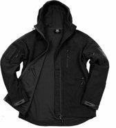 101inc Hexagon Fleece jas zwart