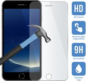 Apple iPhone 8 Plus - Screenprotector - Tempered glass - Case friendly