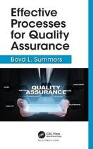 Effective Processes for Quality Assurance