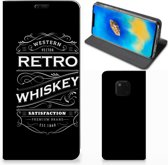 Huawei Mate 20 Pro Flip Style Cover Whiskey