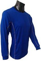KWD Shirt Diablo lange mouw - Kobaltblauw - Maat XL