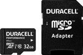 Duracell Micro SDHC32GB Cl.10 U1/Adap Prf