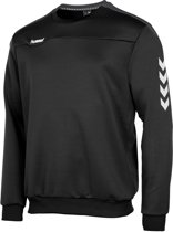 hummel Valencia Top Round Neck Sporttrui Heren - Black/Anthracite