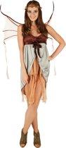 dressforfun 301180 Vrouwenkostuum Nimf Natuurgeest voor dames vrouwen S verkleedkleding kostuum halloween verkleden feestkleding carnavalskleding carnaval feestkledij partykleding