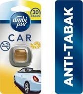 Ambi Pur Car Anti-Tabak - 2 ml - Luchtverfrisser - Geen rooklucht meer in de auto