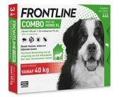 Frontline Combo - XL: van 40 tot 60 kg - Anti vlooienmiddel en tekenmiddel - Hond - 3 pipetten