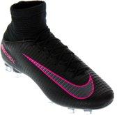 Nike Mercurial Veloce III DF FG Voetbalschoenen Voetbalschoenen - Maat 45 - Mannen - zwart/roze