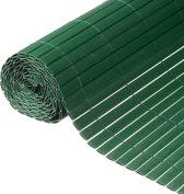 Nature - Tuinscherm - PVC - Dubbelwandig - Groen - 1,5 x 3m