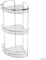 Plieger Solid hoekplanchet 3 laags chroom