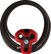SAFEMAN-T - Sterk kabelslot voor o.a. MTB en Racefiets - Rood