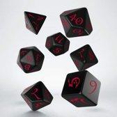 Classic Polydice Set Q-Workshop Black Red