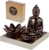 Eden Wierook houder Boeddha - Meditatie - 13x15 cm