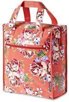 Basil Blossom Roses Shopper - Fietstas - Koraal