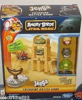 Angry Bird Jenga Tatooine Battle Game
