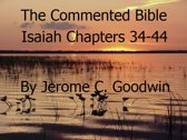 Isaiah Chapters 34-44