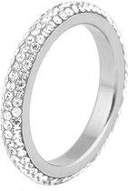 Cilla Jewels ring edelstaal Kristal Zilver-16mm