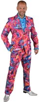 Feesten & Gelegenheden Kostuum | Roze Funky Cirkels Aquarel | Man | Extra Small | Carnaval kostuum | Verkleedkleding