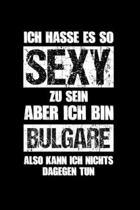 Bulgarien: Sexy Bulgare: Notizbuch / Notizheft f�r Trikot A5 (6x9in) dotted Punktraster