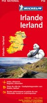 Irlande Ierland 11712 carte ' national ' michelin kaart