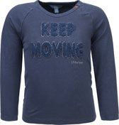 lief! lifestyle Jongens T-shirt - Blauw - Maat 80
