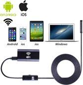 Wifi endoscoop met 5 meter kabel - voor IOS en Android