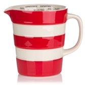 Cornishware Red Graduated Jug maatbeker 56 cl