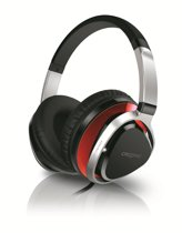 Creative Aurvana Live2 - Over-ear koptelefoon - Zwart / Rood