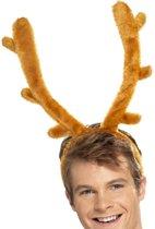 Herten Gewei op Diadeem  Grappig Kerst hoofddeksel