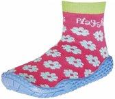 Playshoes UV zwemsokken Kinderen Bloemenprint - Roze - Maat 24/25
