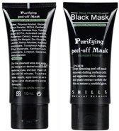 3 stuks van 50 ml | Black Head Peel Off Mask Tube | Mee Eters & Acne verwijderen | Peel Off Mask | Blackhead Pilaten Masker | Black Head Mask | Shills Natuurlijke Producten | Hype Rage 2017