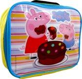 PEPPA PIG & George Lunchtas School Lunch Geïsoleerd Heel Leuk