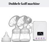 B.K Label Freestyle - Dubbele elektrische borstkolf - Afkolfset - PA-Vrij Transparant 150 ml Kolf - Borstvoeding geven zonder pomp - Moedermelk - Hoge Kwaliteit