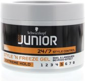 Schwarzkopf Junior Powerstyling Style 'N Freeze Gel Extreme Hold 200 ml