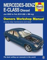 Mercedes-Benz E-Class Diesel (Jun '02 - Feb '10) 02 To 59
