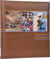 Henzo EARTH - Fotoalbum - 29 x 33 cm - Bruin - 80 Pagina's
