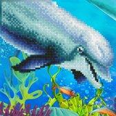 50492 DIAMOND ART(Powered by Diamond Dotz) - 20.32 x 20.32cm Kits Dolphin