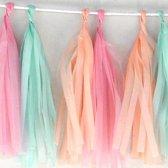 diy tassel garland slinger pastel Tassel garland pastel