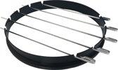 BBQ Ring voor 57 CM kogel grills met spiesen set