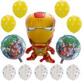 Avengers ballonnen set 12 stuks| Iron man ballon groot| Marvel Ballon |Kinderfeestje | End game