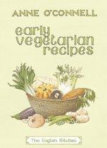 Early Vegetarian Recipes