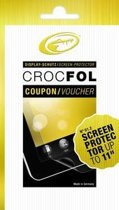 Crocfol Coupon Screenprotector - Transparant
