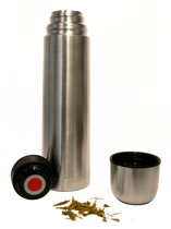 Hovac Country Thermosfles - 1 l - RVS
