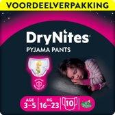 Huggies DryNites absorberende nachtbroekjes | GIRLS | 3 - 5 jaar | 3 x 10 stuks
