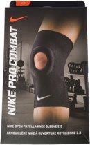 Nike Pro Combat Patella Knie Sportbandage 2.0 - Medium - Zwart