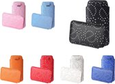 Bling Bling Sleeve voor uw Samsung Galaxy A3 Sm A310, extra trendy hoesje, rood , merk i12Cover