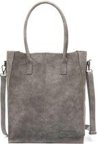 Zebra Trends Natural bag Rosa grey